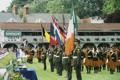 RDS Dublin Horse Show 2000, The Army bearing flags of teams