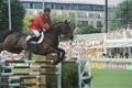 RDS Dublin Horse Show 2000, Rene Tebbel on Radiator for Germany