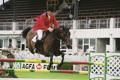 RDS Dublin Horse Show 2000, Robert Smith on Senator Galoubet du Ronett for Great Britain.