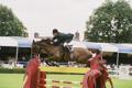 RDS Dublin Horse Show 2000, Peter Charles on Traxdata Mulligan for Ireland