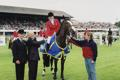 RDS Dublin Horse Show 2000, Presentation to Marilyn Little on Unknown, Leading International rider for the USA