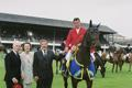 RDS Dublin Horse Show 2000, Presentation to Rene Tebbel on Radiator for Germany
